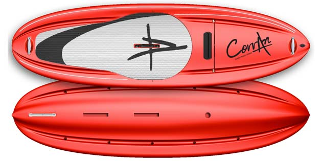 tahiti-red1 Corran Whitewater SUP