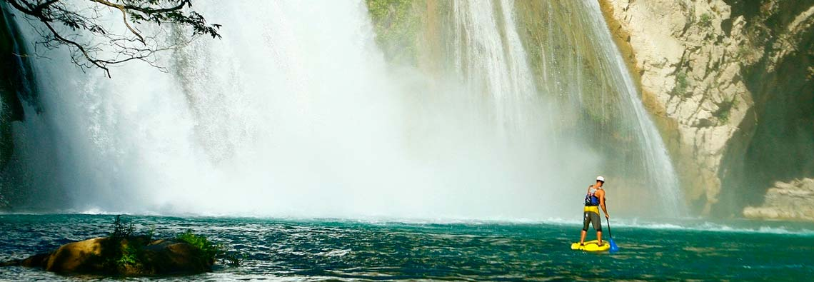 The Bull Waterfalls Mexico