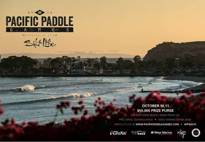Pacific Paddle Games SUP Race 2015